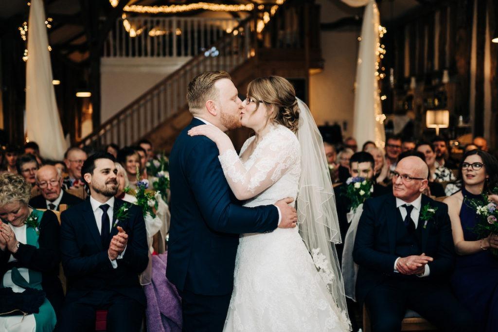first kiss at The Barnyard in upchurch