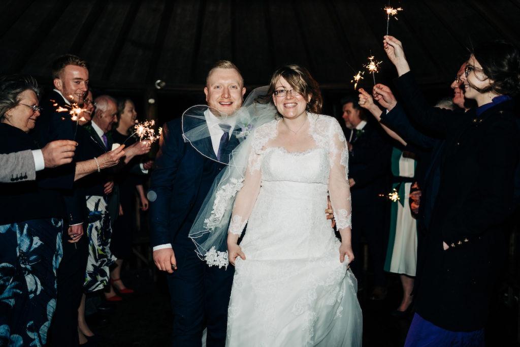 The Barnyard Upchurch wedding twilight