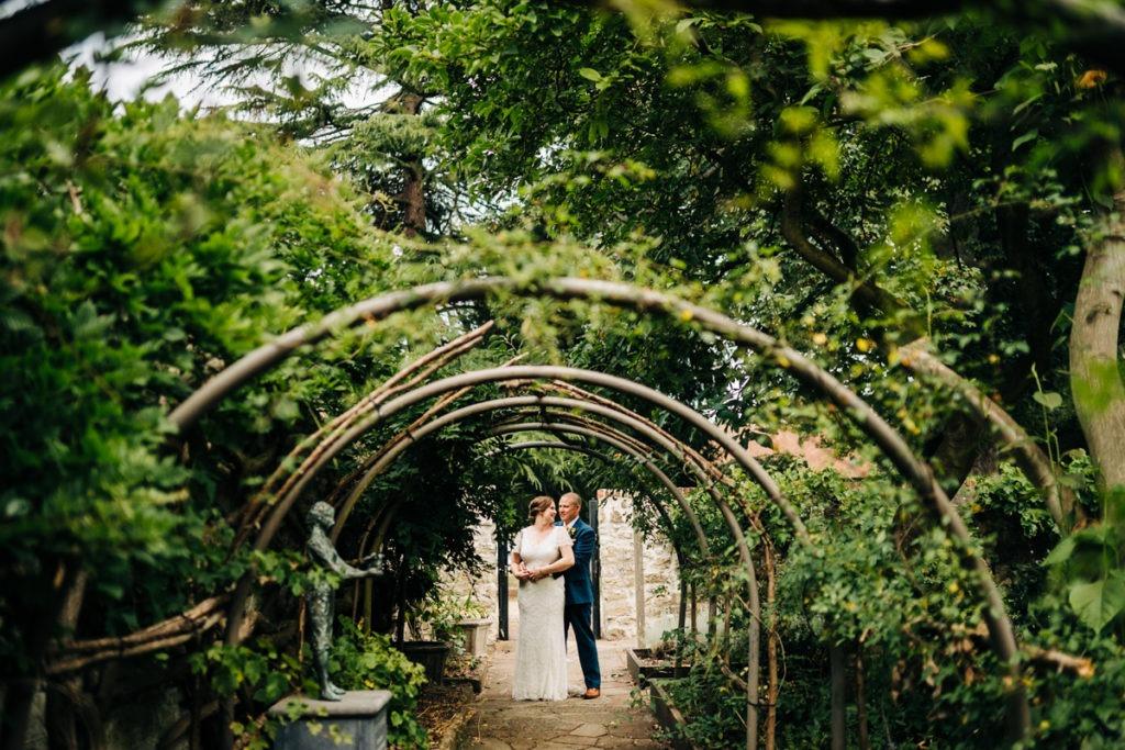 wedding photos at Archbishops palace