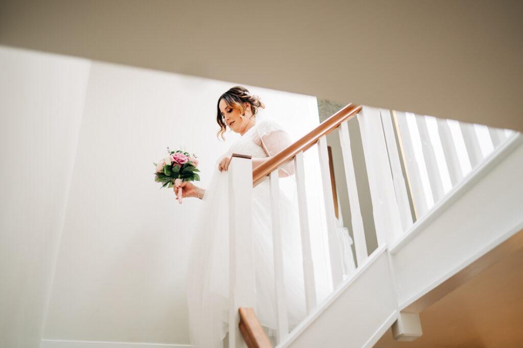 Nurstead Court wedding preparations