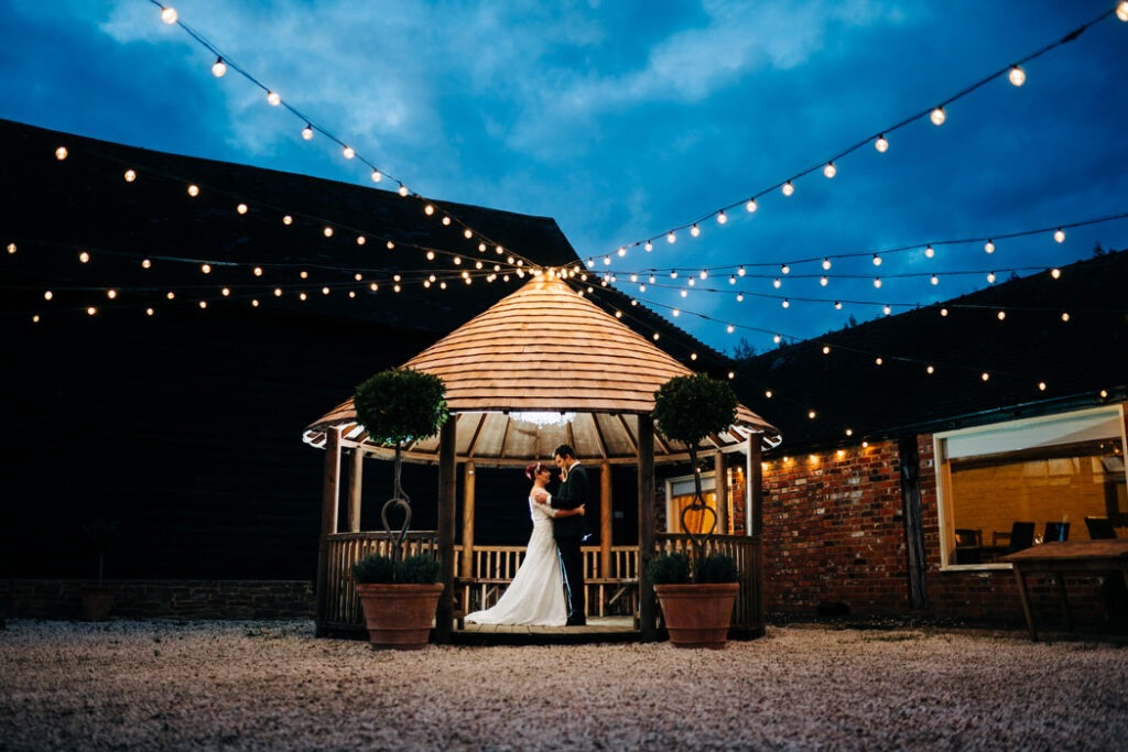 Steff & James – Barnyard Twilight Wedding