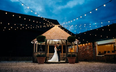 Steff & James – Barnyard Twilight Wedding