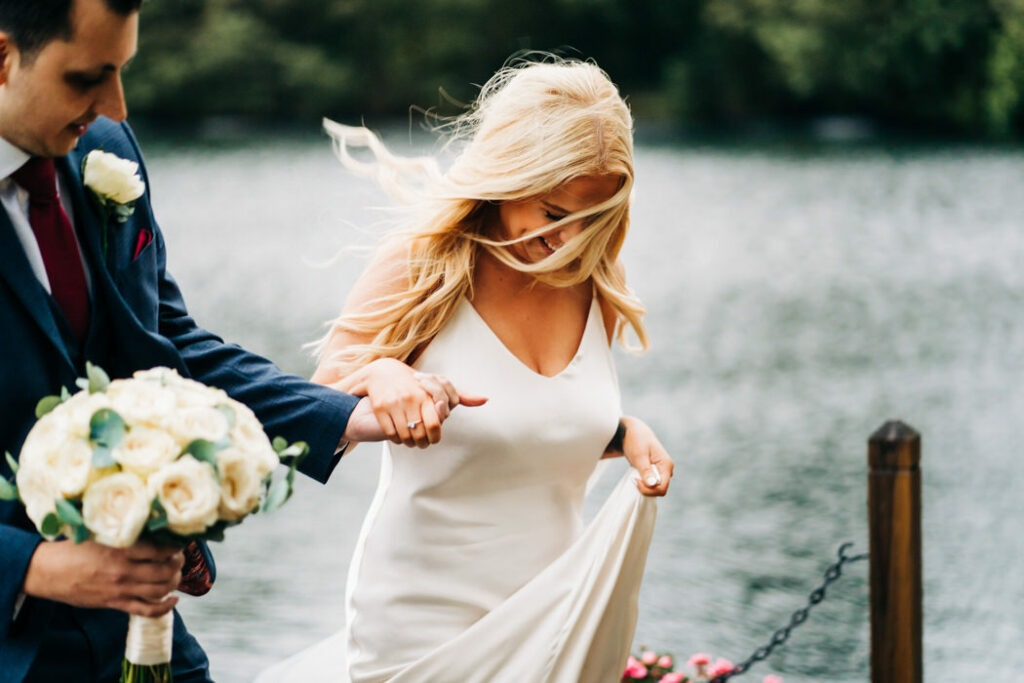 Inn on the Lake wedding portraits