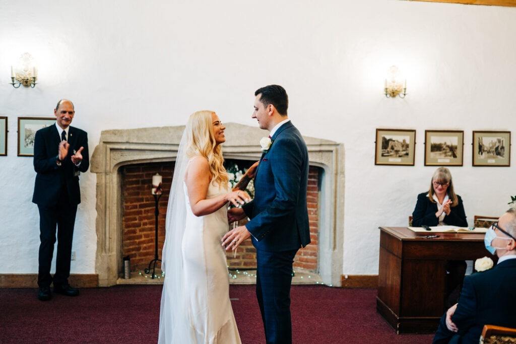 ceremony at archbishops palace