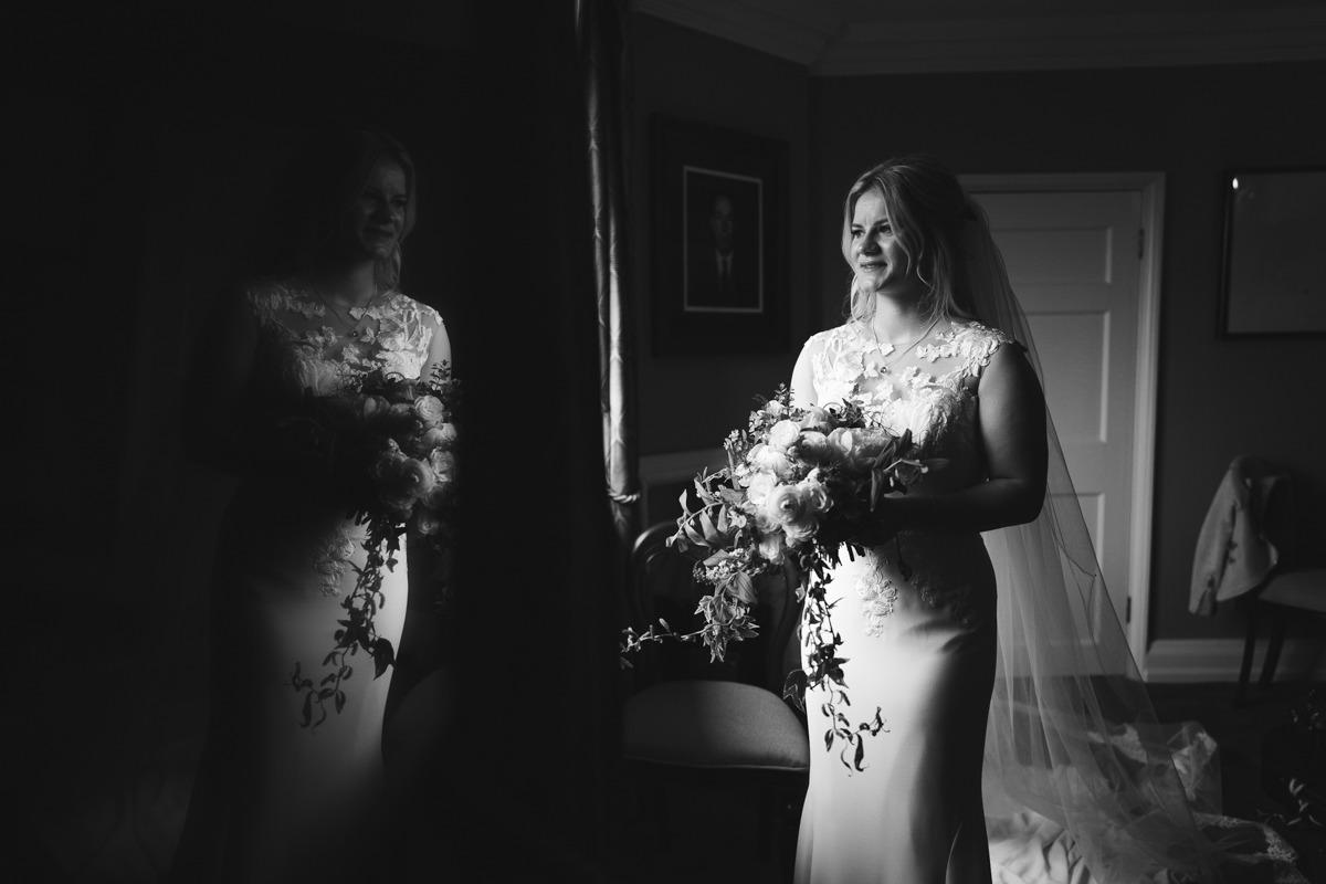 bridal prep photograph